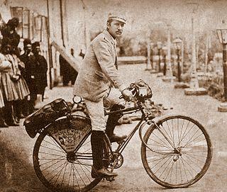 Frank Lenz (cyclist) American cyclist