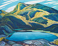 Franklin Carmichael - Lone Lake.jpg