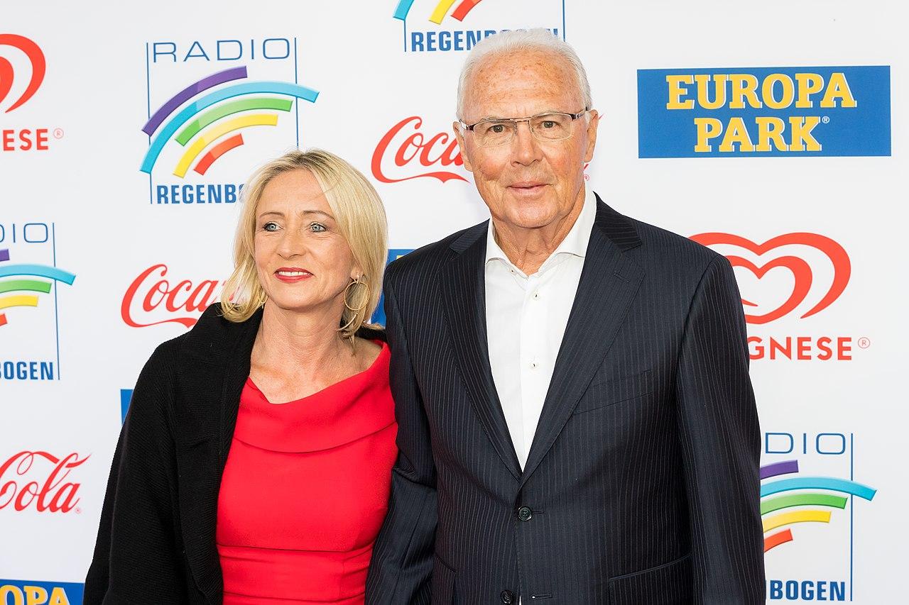 Datei:Franz Beckenbauer, Heidi Beckenbauer - 2019102190251