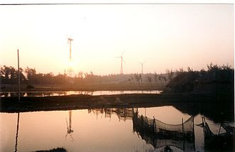 Bakkhali - Windmills at Frasergunj
