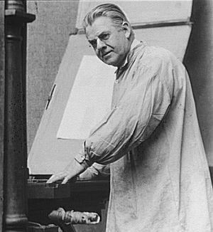 Frederic Goudy - Frederic W. Goudy in 1924