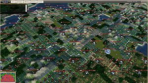 Freeciv WebGL 3D running on freecivweb.org/