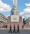 Freedom Monument Company of Guard of Honor, Riga, Latvia - Diliff.jpg