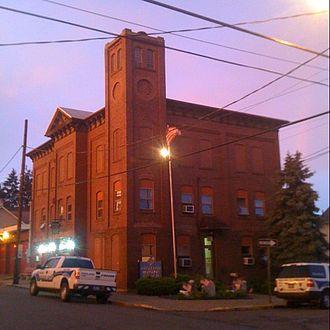 Freeland, Pennsylvania - Borough building