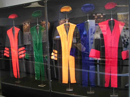 Academic robes of the Free University of Berlin - Academic dress