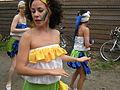 Fremont Solstice Parade 2008 - dancers rehearsing 06.jpg