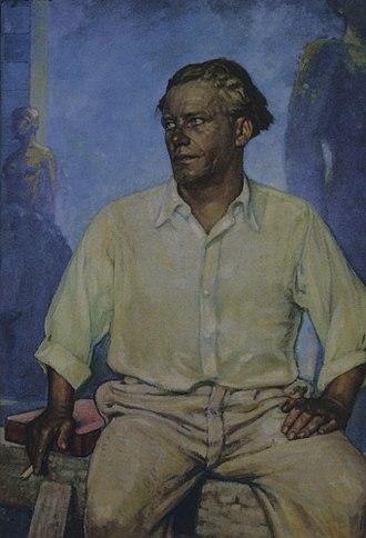 Josef Thorak - Josef Thorak by Fritz Erler, 1939