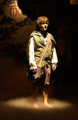 Adaptations of The Lord of the Rings - An actor as Frodo Baggins in The Lord of the Rings comedy musical in Cincinnati