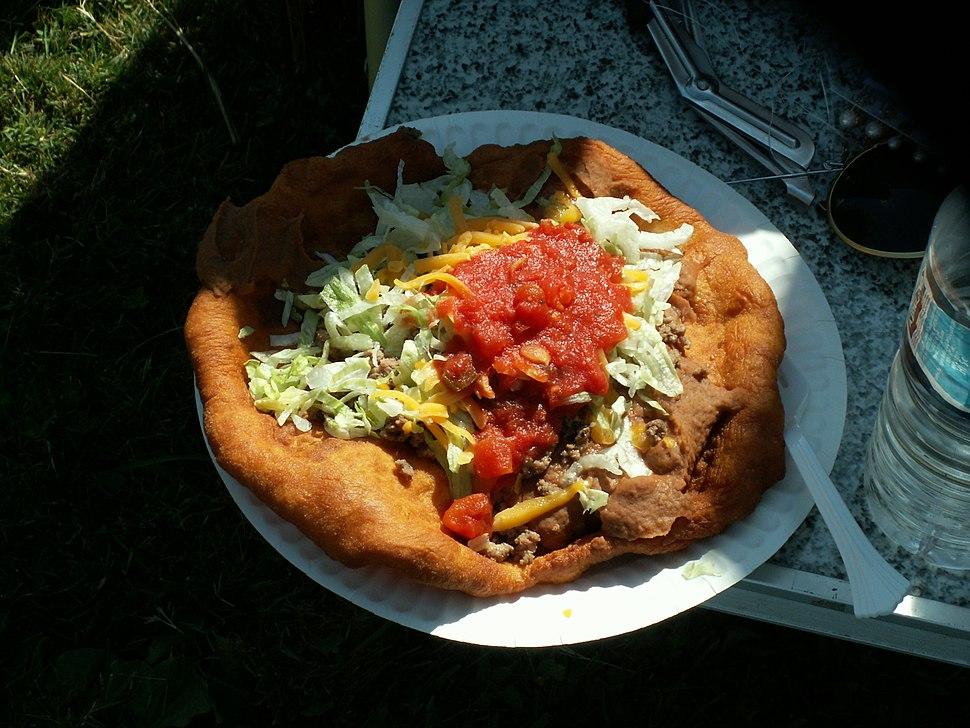Frybread taco