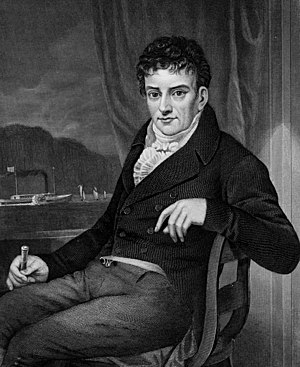 Robert Fulton - Portrait of Fulton