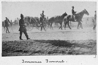 Henare Tomoana - Henare Tomoana's Funeral 1904