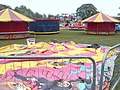 Funfair before opening, Horsforth Hall Park - geograph.org.uk - 430395.jpg