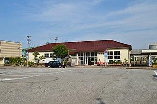 Fushiki Station Railway station in Takaoka, Toyama Prefecture, Japan
