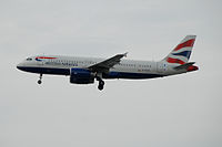 G-EUYL - A320 - British Airways