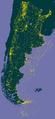 GBIF ocurrencias localizadas en Argentina - septiembre 2016.png