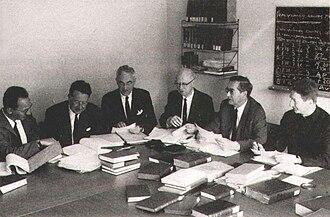 Novum Testamentum Graece - Image: GNT Committee