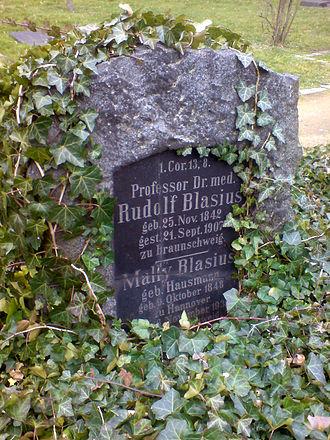 Rudolf Blasius - Grave of Rudolf and Mally Blasius