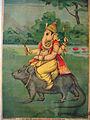 Ganesh on his vahana, a mouse or rat.jpg