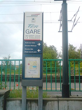Image illustrative de l'article Gare de Saint-Louis-la-Chaussée
