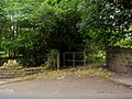 Gate - Fence into Woodland off Dropping Well - geograph.org.uk - 568700.jpg