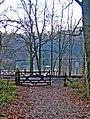 Gates by Severn Valley Railway level crossing - geograph.org.uk - 1579092.jpg