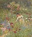 Gathering flowers - Helen Allingham.jpg