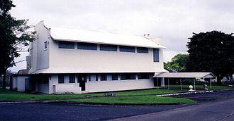 Gatún - Gatun's former Siebert Lodge, Bldg. 213 on Jadwin Road
