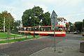 Gdańsk Oliwa ulica Wita Stwosza (tramwaj Konstal).JPG