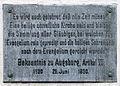 Gedenktafel An der Frauenkirche (Meißen) Augsburger Bekenntnis.jpg