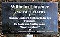 Gedenktafel Fürstenwalder Allee 93 (RahndWil) Wilhelm Linsener.jpg