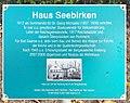 Gedenktafel Platanenstraße 1-15 (Bad Saarow) Haus Seebirken.jpg
