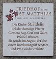 Gedenktafel Röblingstr 91 (Temp) Kirche St Fidelius.jpg