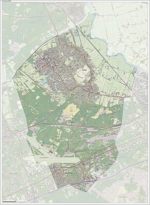 Soest, Netherlands - Dutch Topographic map of Soest, June 2015
