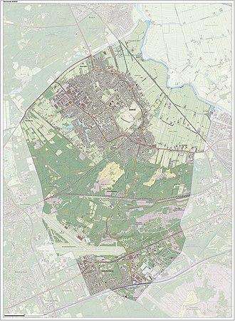 Soest, Netherlands - Dutch Topographic map of Soest, June 2015
