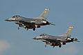 General Dynamics F-16C '85-439' & '85-443' (13941247003).jpg