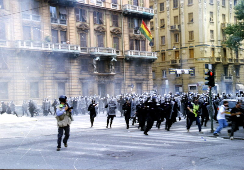 G8 Genova tortura
