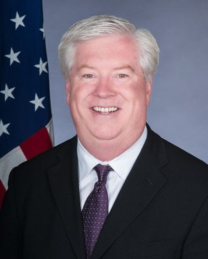 United States Ambassador to Portugal - Image: George E. Glass official photo
