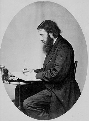 George MacDonald writing.