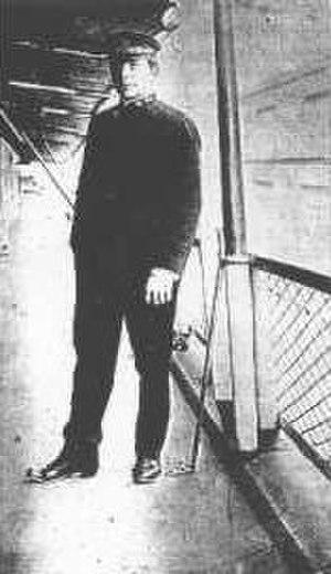 USS Cyclops (AC-4) - Lieutenant Commander George W. Worley, United States Naval Reserve.
