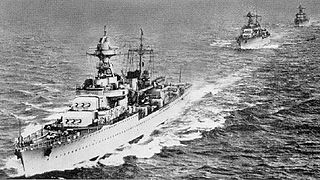 French cruiser <i>Georges Leygues</i> ship
