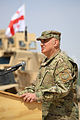 Georgian Army hosts Easter ceremony, Helmand. 2014 05.jpg