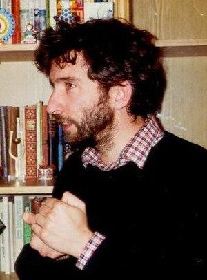 Gerard McBurney - Gerard McBurney, 1989 in Moscow.  Photo by Dmitri N. Smirnov