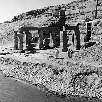 Temple of Ptah (Karnak) - The Temple of Ptah seen from the Nile.