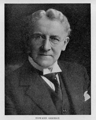 Edward German - German in later years