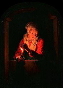 Resultado de imagen de Imágenes de una mujer a la luz de una vela