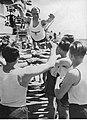 Gimnastyka na pokładzie niemieckiego okętu wojennego (2-2535).jpg