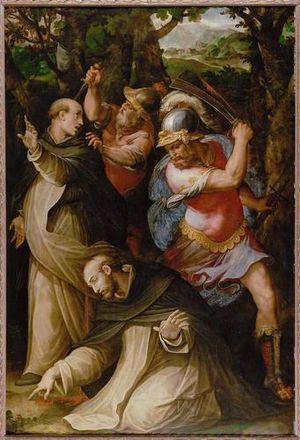 Carino of Balsamo - Image: Giorgio Vasari.Martyr Petrus 01