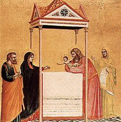 Giotto di Bondone: The Presentation of the Christ Child in the Temple