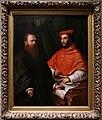 Girolamo da carpi (attr.), il cardinale ippolito de' medici e monsignor mario bracci, post 1532, 01.jpg