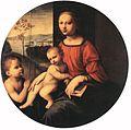 Giuliano Bugiardini - Virgin and Child with the Infant St John the Baptist - WGA3681.jpg
